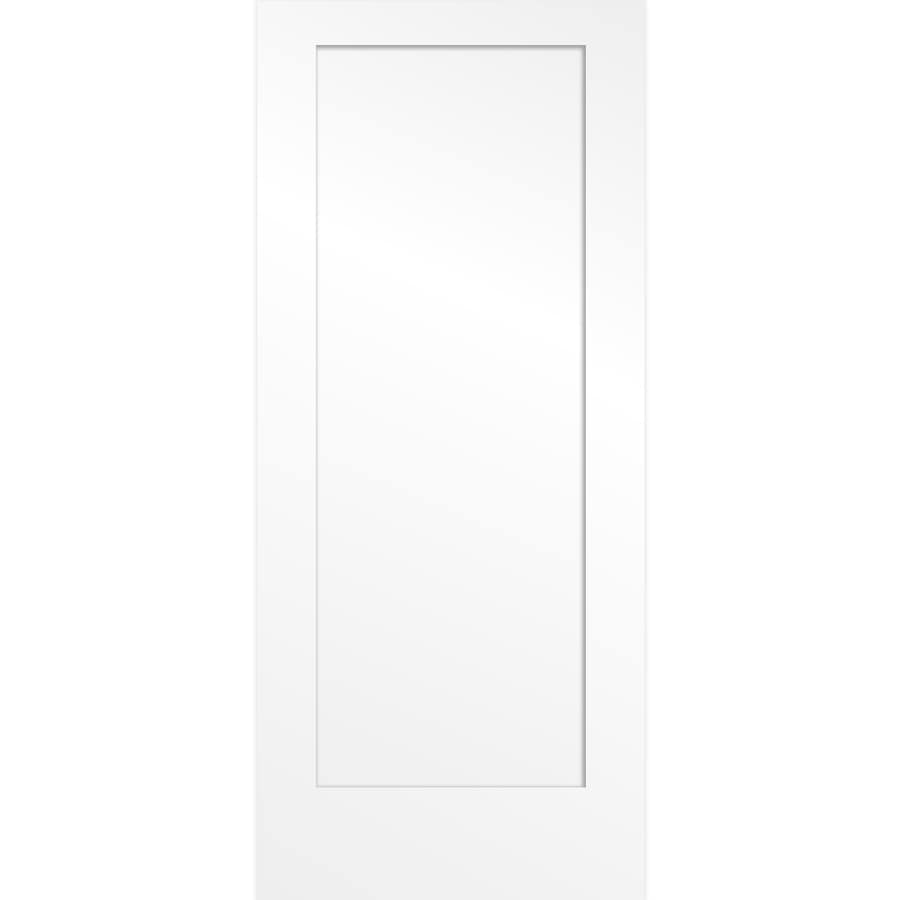 ReliaBilt (Primed) Solid Core 1-Panel Barn Interior Door (Common: 36-in x 84-in; Actual: 36-in x 84-in)