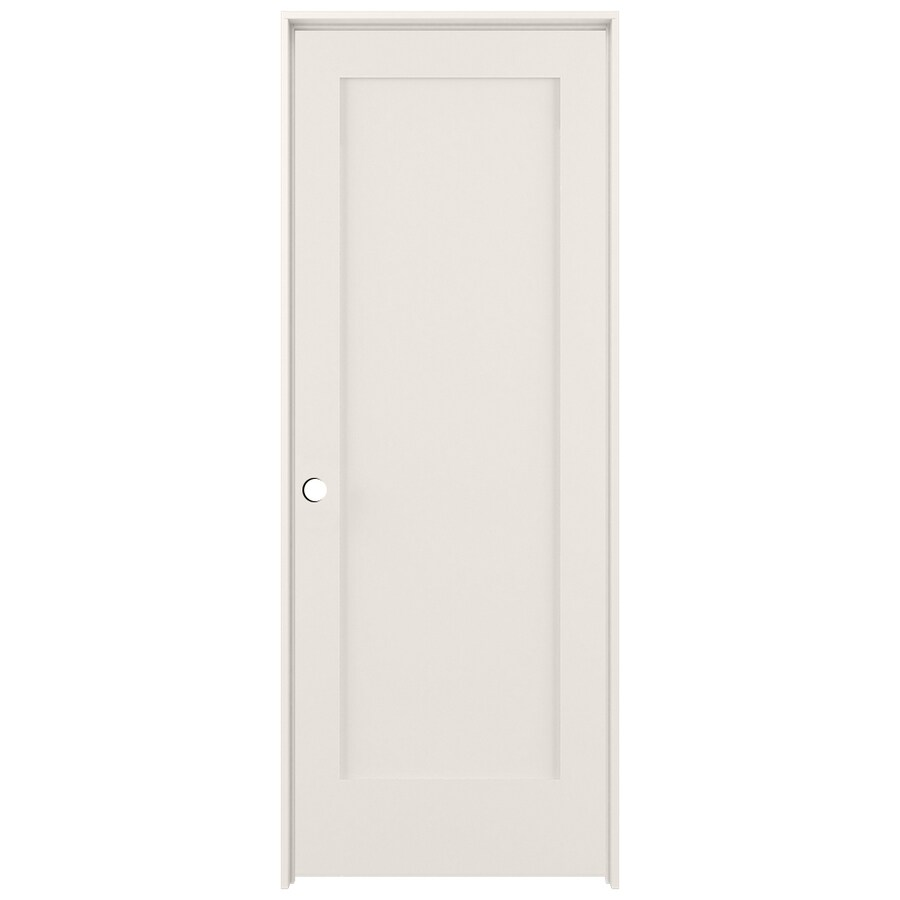 ReliaBilt Prehung Solid Core 1-Panel Interior Door (Common: 36-in x 80-in; Actual: 37.5-in x 81.5-in)