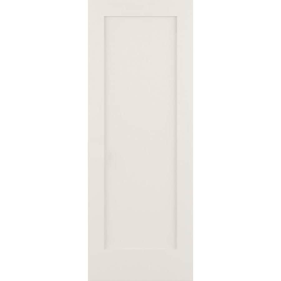ReliaBilt Solid Core MDF Slab Interior Door (Common: 32-in x 80-in; Actual: 32-in x 80-in)