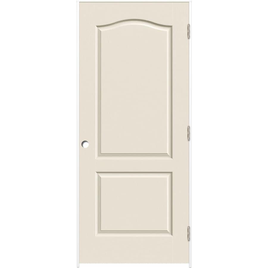 ReliaBilt Prehung Hollow Core 2-Panel Arch Top Interior Door (Common: 28-in x 80-in; Actual: 29.375-in x 81.312-in)