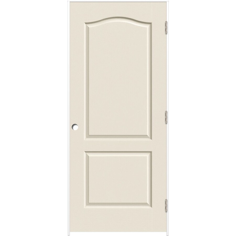 Shop Reliabilt Primed Hollow Core Molded Composite Single Prehung Interior Door Common 32 In X