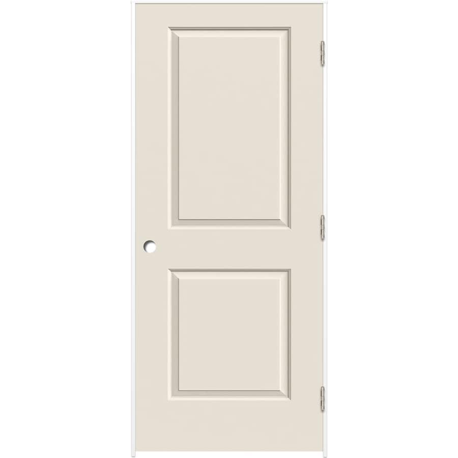ReliaBilt Primed Hollow Core Molded Composite Prehung Interior Door (Common: 24-in x 80-in; Actual: 25.375-in x 81.312-in)