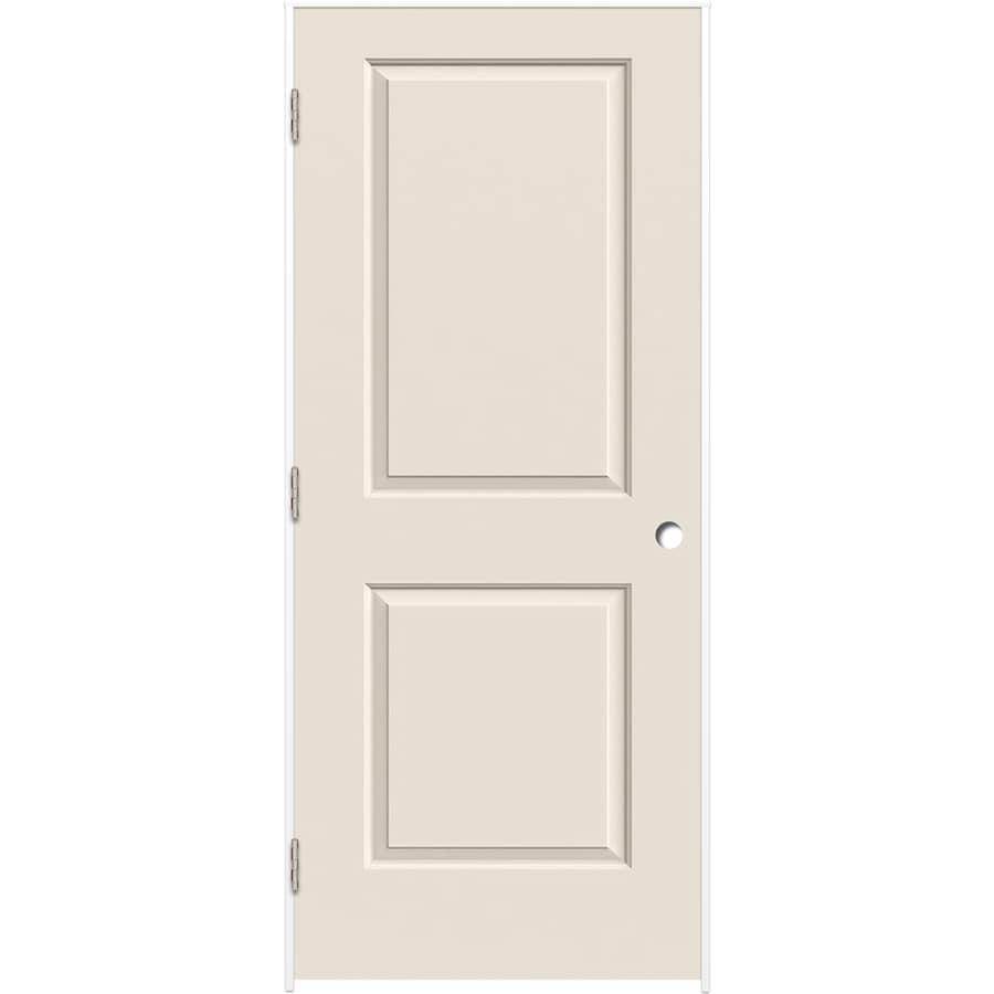 ReliaBilt Prehung Hollow Core 2-Panel Square Interior Door (Common: 30-in x 80-in; Actual: 31.375-in x 81.312-in)