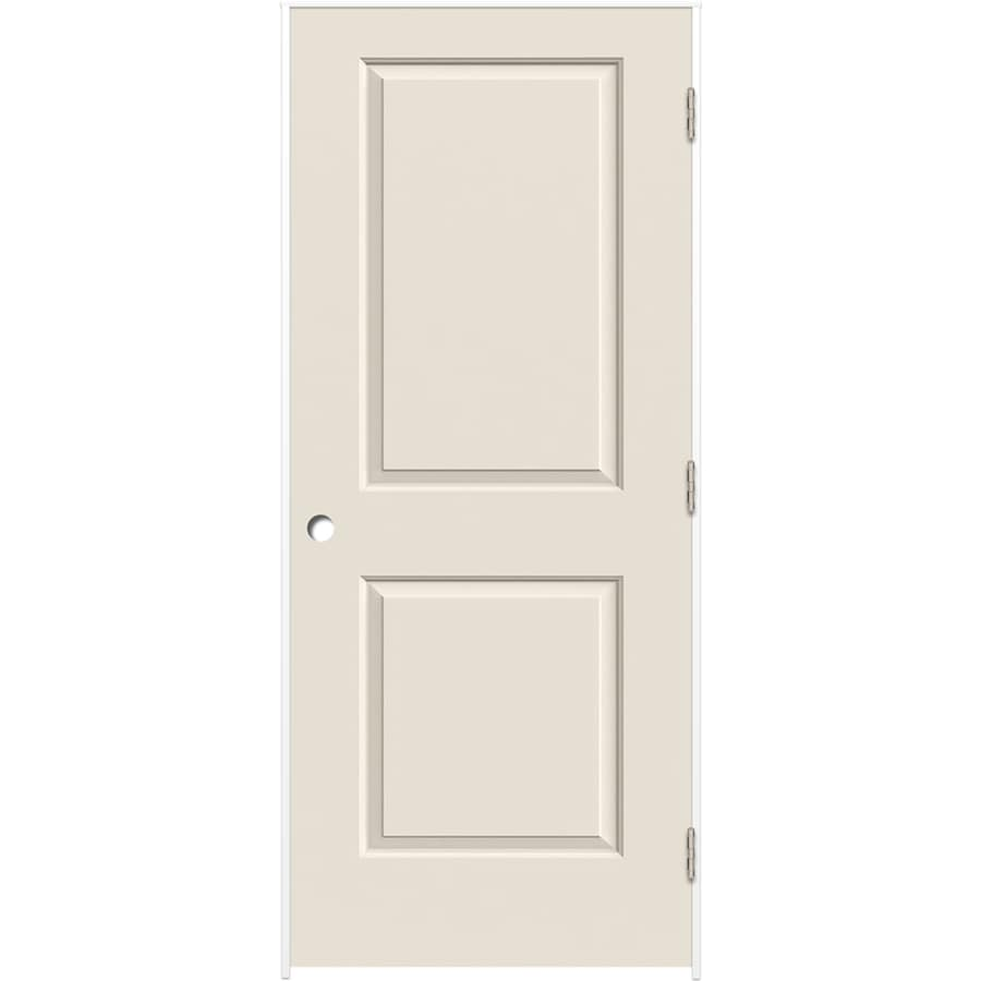 ReliaBilt Prehung Hollow Core 2-Panel Square Interior Door (Common: 30-in x 80-in; Actual: 31.375-in x 81.312-in)