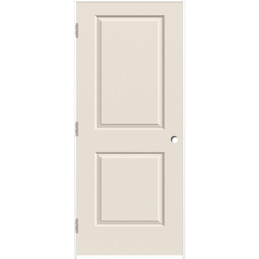 ReliaBilt 2-panel Square Single Prehung Interior Door (Common: 32-in X 80-in; Actual: 33.375-in x 81.312-in)