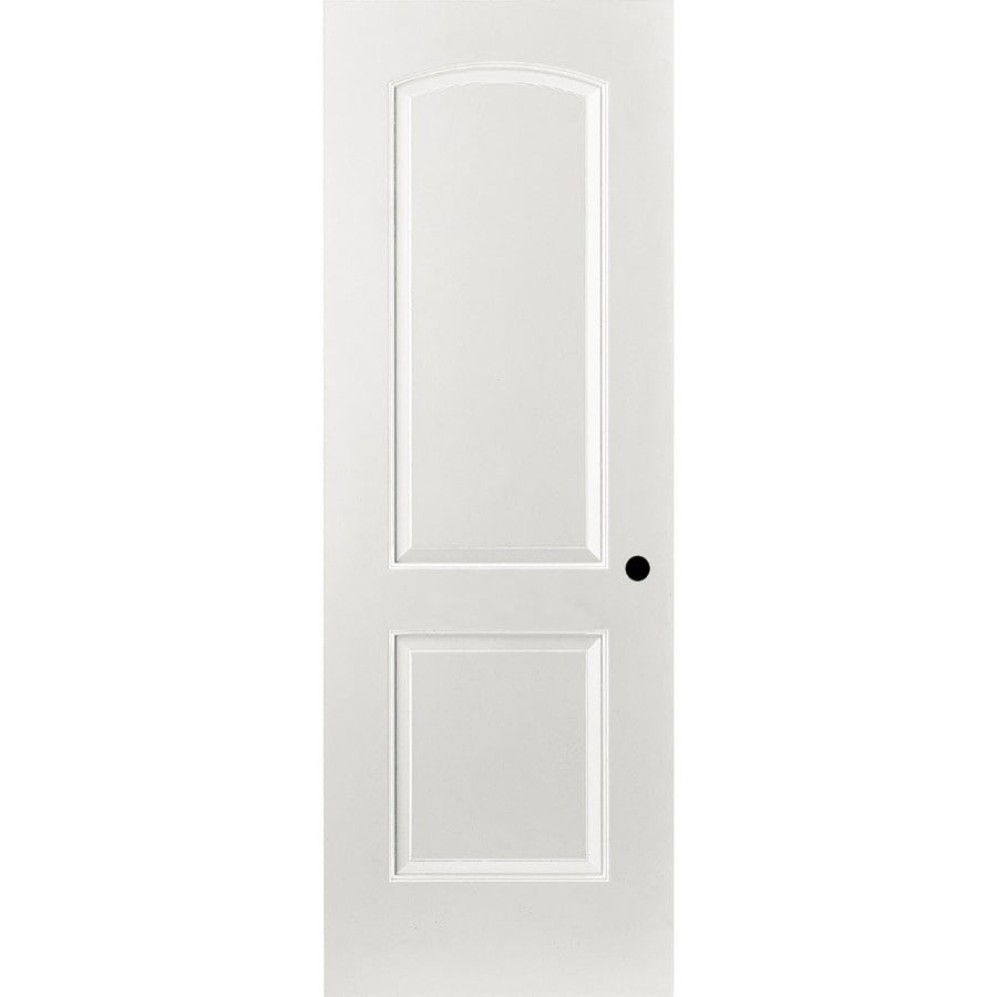 ReliaBilt Primed Hollow Core Molded Composite Prehung Interior Door (Common: 24-in x 80-in; Actual: 25.375-in x 81.312-in)