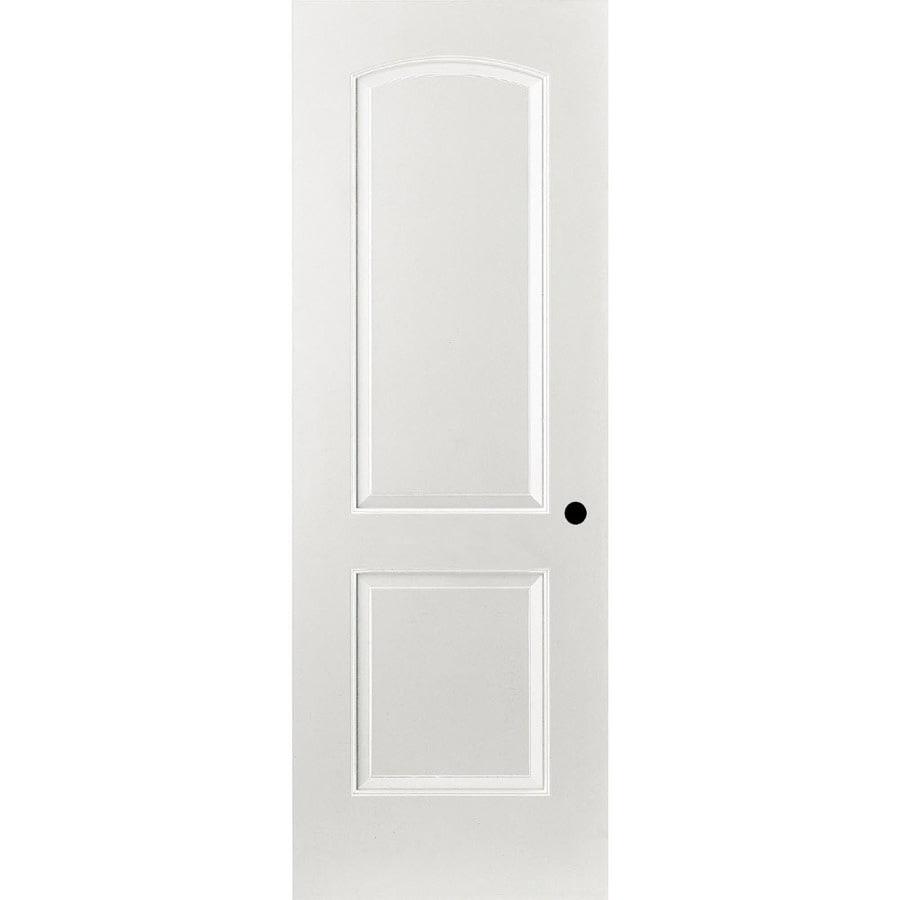 ReliaBilt Primed Hollow Core Molded Composite Interior Door (Common: 32-in x 80-in; Actual: 33.375-in x 81.312-in)