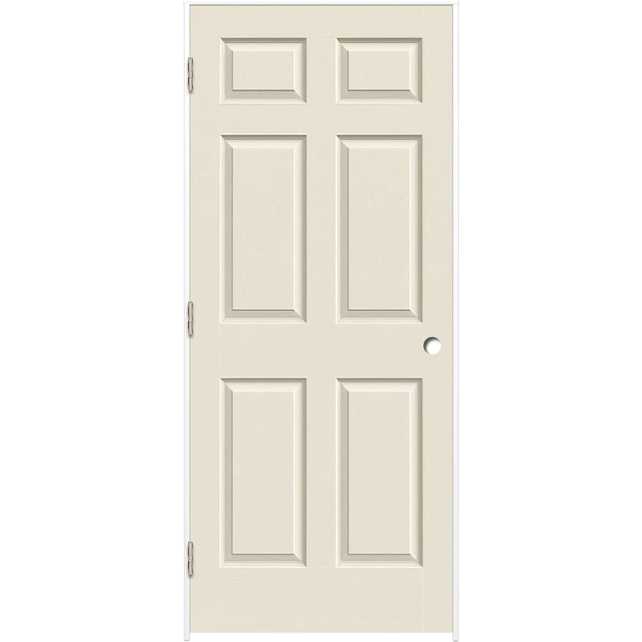 ReliaBilt Primed Hollow Core Molded Composite Single Prehung Interior Door (Common: 32-in x 80-in; Actual: 33.375-in x 81.312-in)