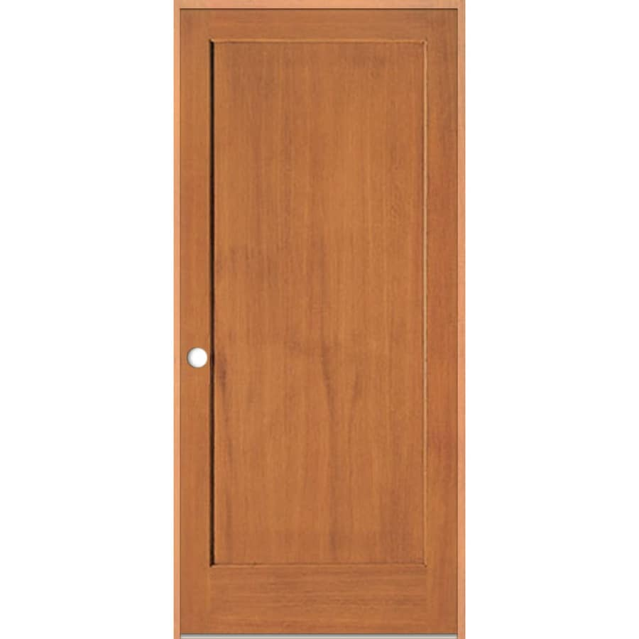 Shop Reliabilt Prehung Solid Core 1 Panel Fir Interior