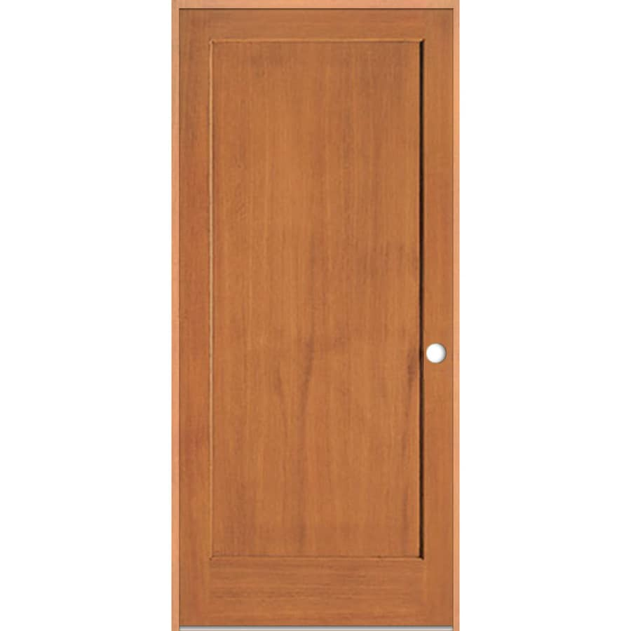 ReliaBilt Prehung Solid Core 1-Panel Fir Interior Door (Common: 36-in x 80-in; Actual: 37.375-in x 81.312-in)