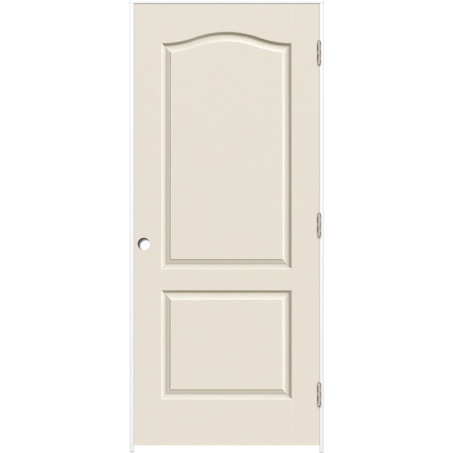ReliaBilt (Primed) Prehung Hollow Core 2-Panel Arch Top Interior Door (Common: 30-in x 80-in; Actual: 31.375-in x 81.187-in)