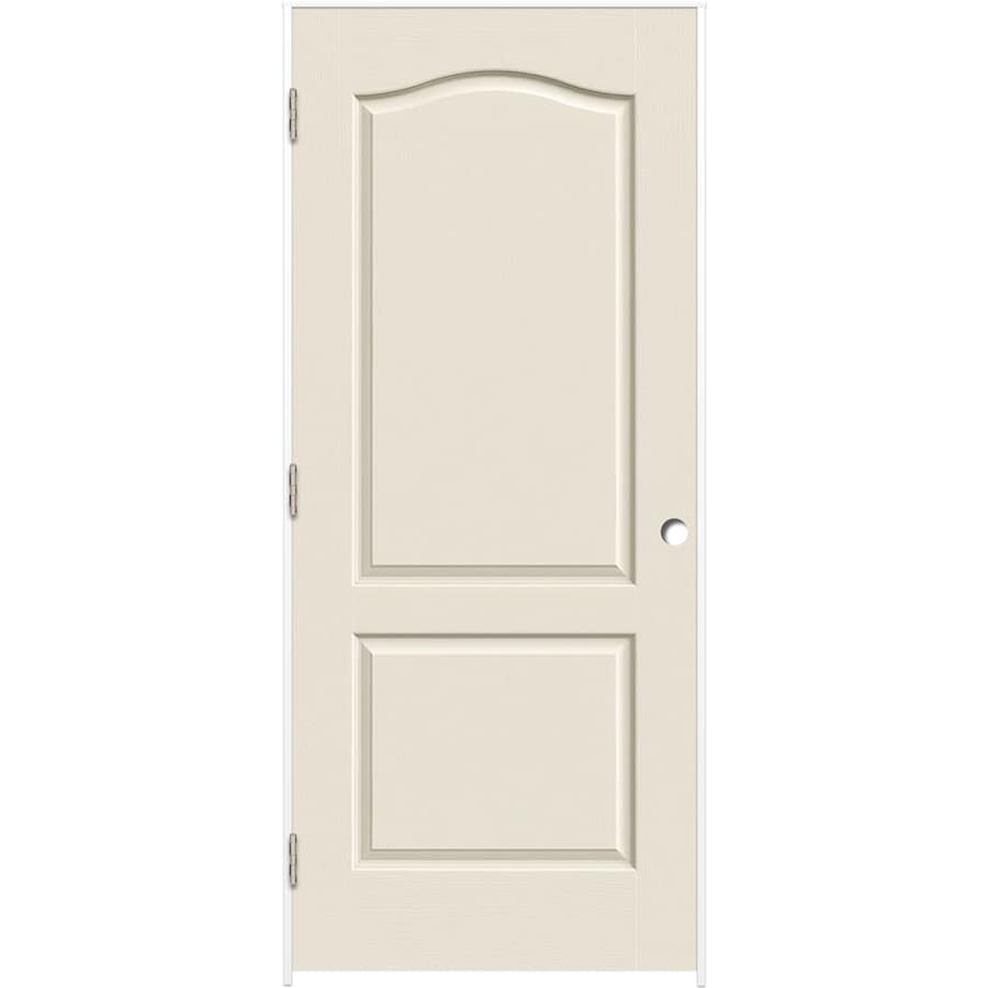 ReliaBilt Primed Hollow Core Molded Composite Single Prehung Interior Door (Common: 32-in x 80-in; Actual: 33.375-in x 81.187-in)