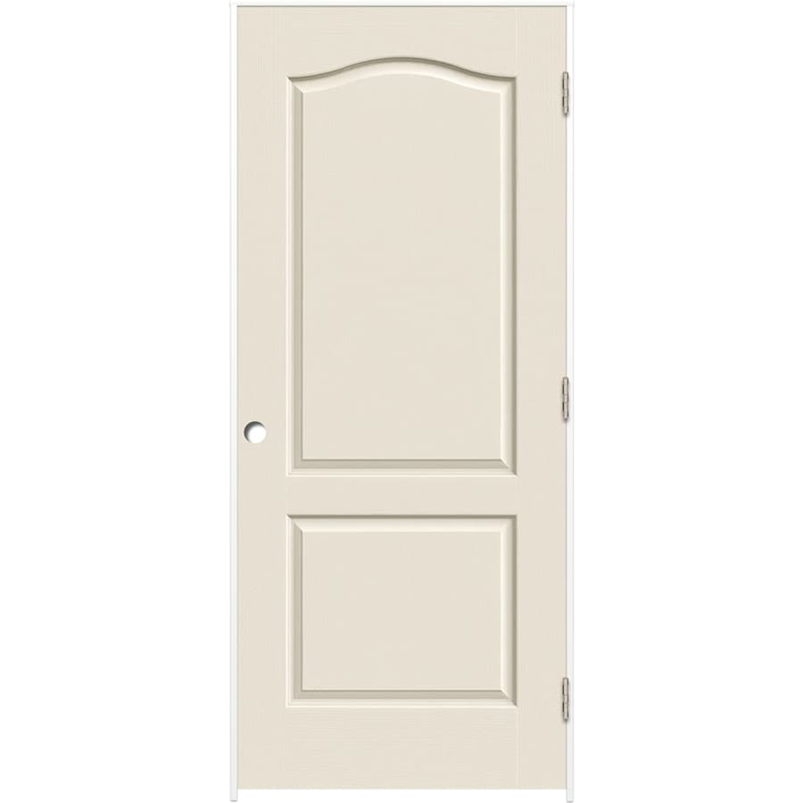 ReliaBilt Prehung Hollow Core 2-Panel Arch Top Interior Door (Common: 36-in x 80-in; Actual: 37.375-in x 81.187-in)
