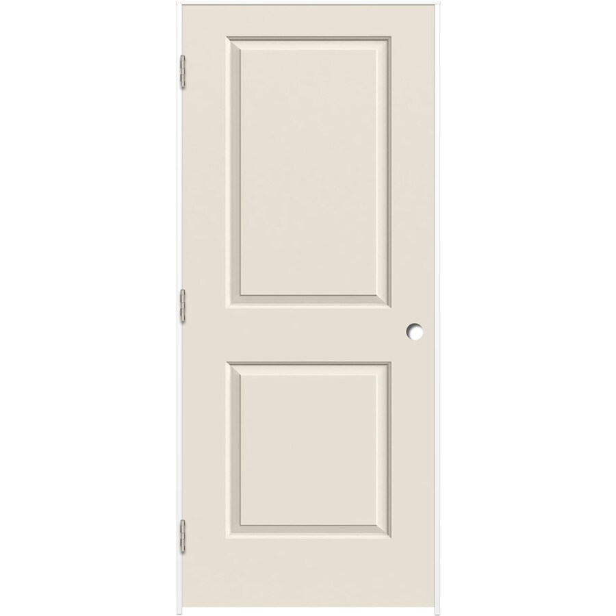 ReliaBilt 2-panel Square Single Prehung Interior Door (Common: 24-in X 80-in; Actual: 25.375-in x 81.187-in)