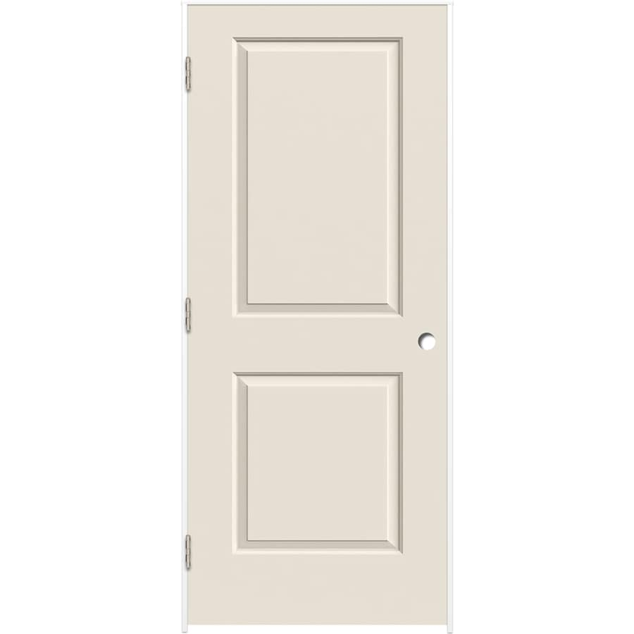 ReliaBilt Prehung Hollow Core 2-Panel Square Interior Door (Common: 30-in x 80-in; Actual: 31.375-in x 81.187-in)