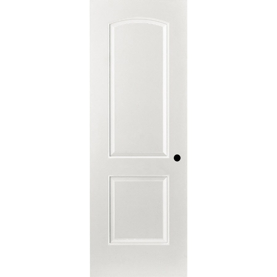 ReliaBilt Primed Hollow Core Molded Composite Prehung Interior Door (Common: 36-in x 80-in; Actual: 37.375-in x 81.187-in)