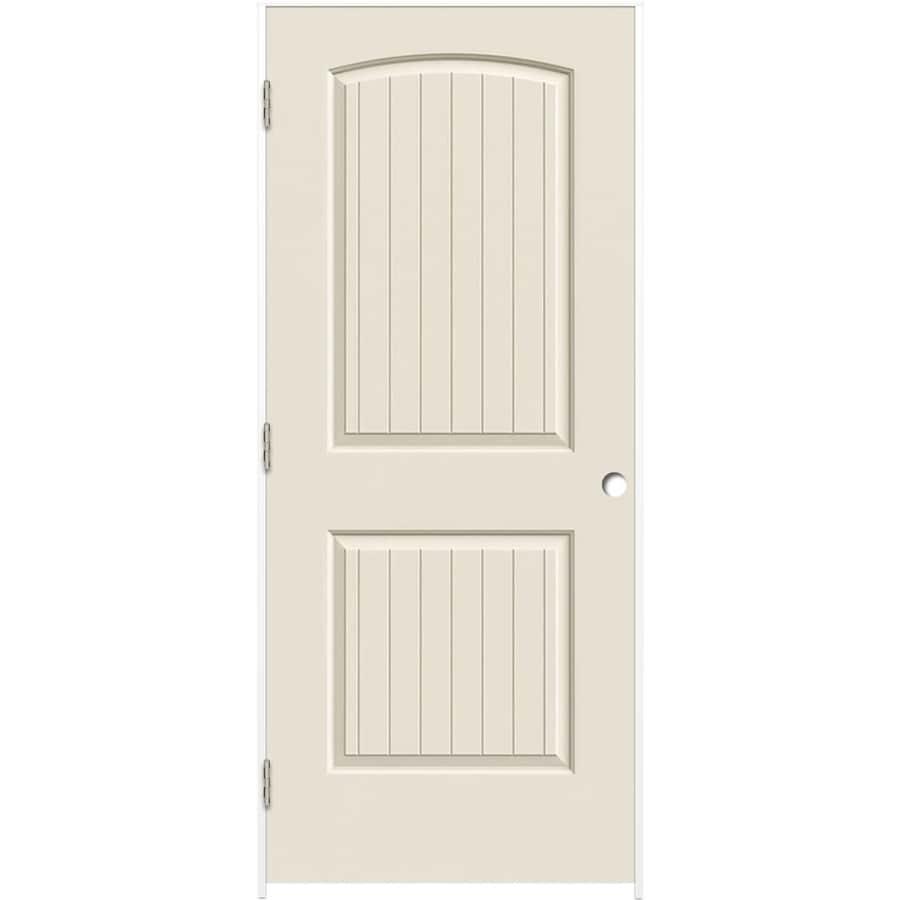 ReliaBilt Primed Hollow Core Molded Composite Interior Door (Common: 30-in x 80-in; Actual: 31.375-in x 81.187-in)