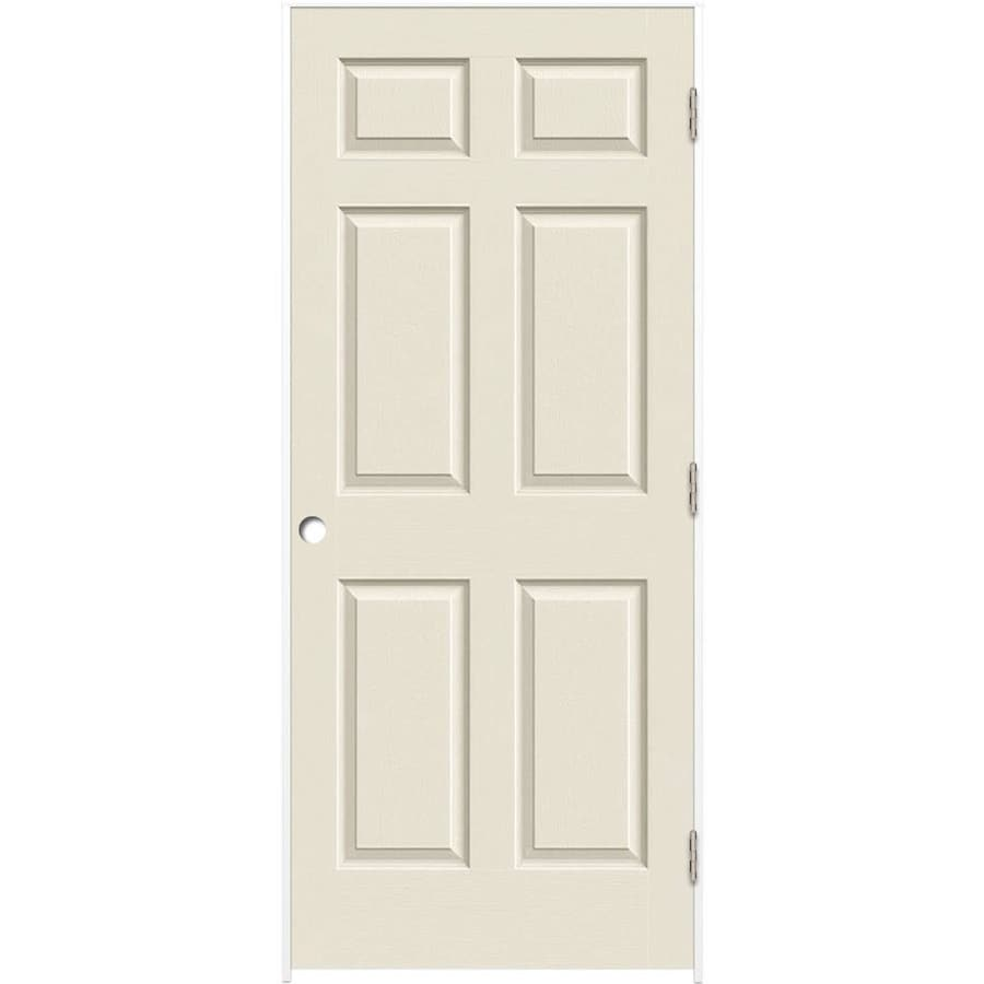 ReliaBilt Primed Solid Core Molded Composite Prehung Interior Door (Common: 28-in x 80-in; Actual: 29.375-in x 81.187-in)
