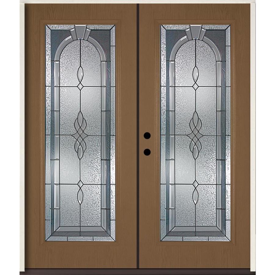 Shop reliabilt hampton flush insulating core full lite for 72 x 80 exterior door