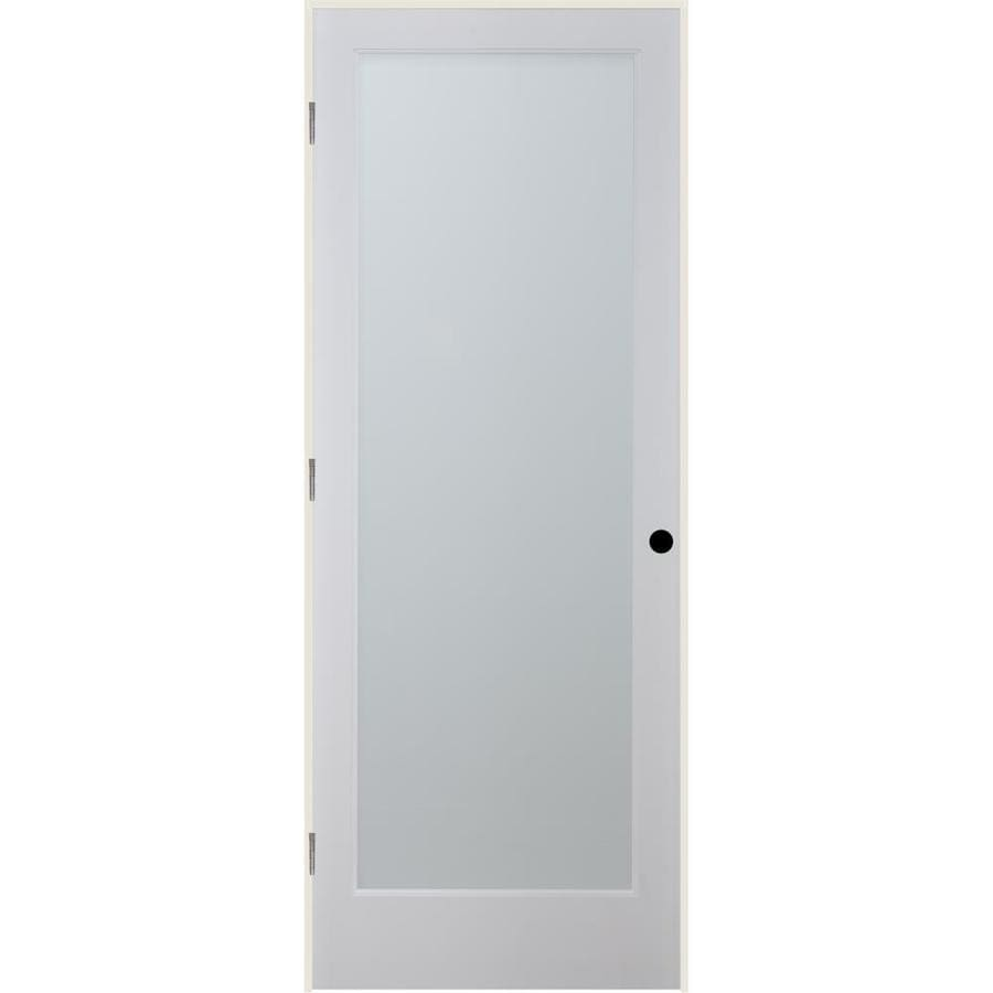 ReliaBilt White Laminate Solid Core Single Prehung Interior Door (Common: 24-in x 80-in; Actual: 25.5-in x 81.3125-in)