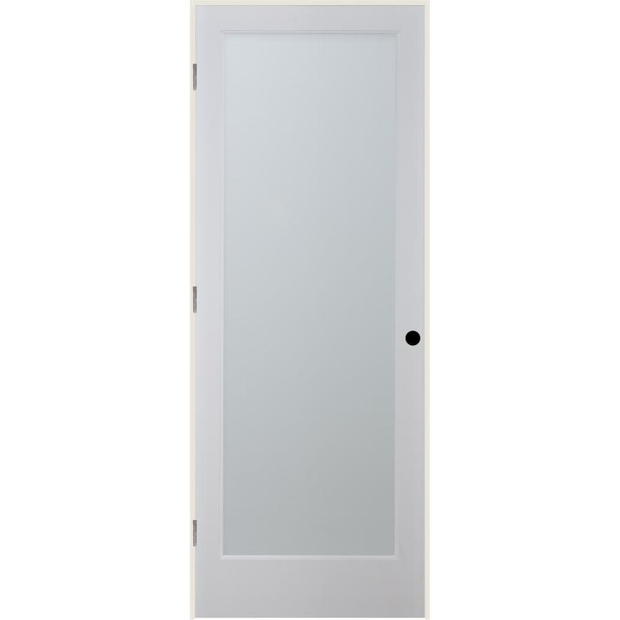 ReliaBilt White Laminate Solid Core Single Prehung Interior Door (Common: 32-in x 80-in; Actual: 33.5-in x 81.6875-in)