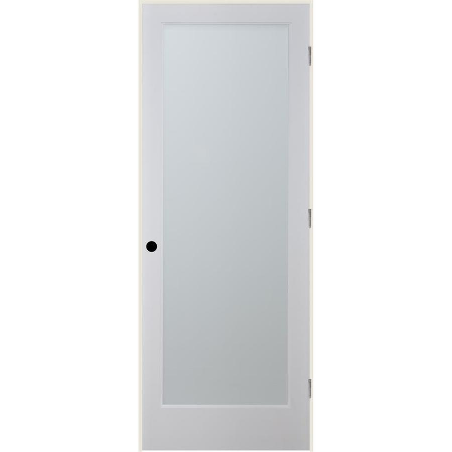 ReliaBilt White Laminate Solid Core Single Prehung Interior Door (Common: 36-in x 80-in; Actual: 37.5-in x 81.6875-in)