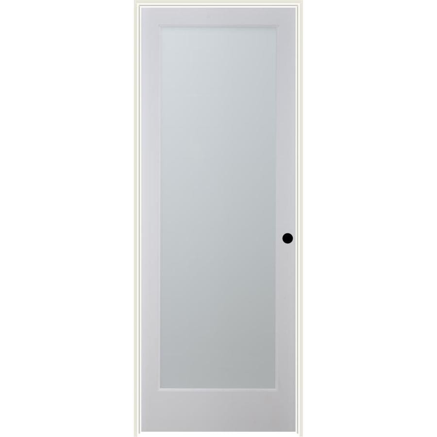 ReliaBilt White Laminate Solid Core Single Prehung Interior Door (Common: 36-in x 80-in; Actual: 37.5-in x 81.6875-in)