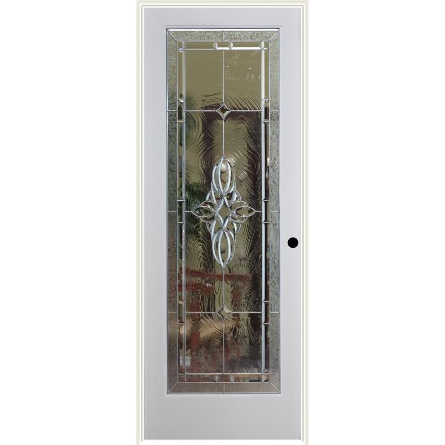 ReliaBilt Serrano Insulated Solid Core Single Prehung Interior Door (Common: 24-in x 80-in; Actual: 25.5-in x 81.3125-in)