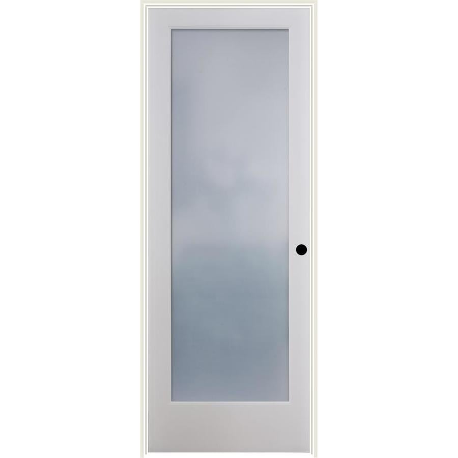 Shop reliabilt frosted glass solid core single prehung interior door reliabilt frosted glass solid core single prehung interior door common 36 in x planetlyrics Image collections