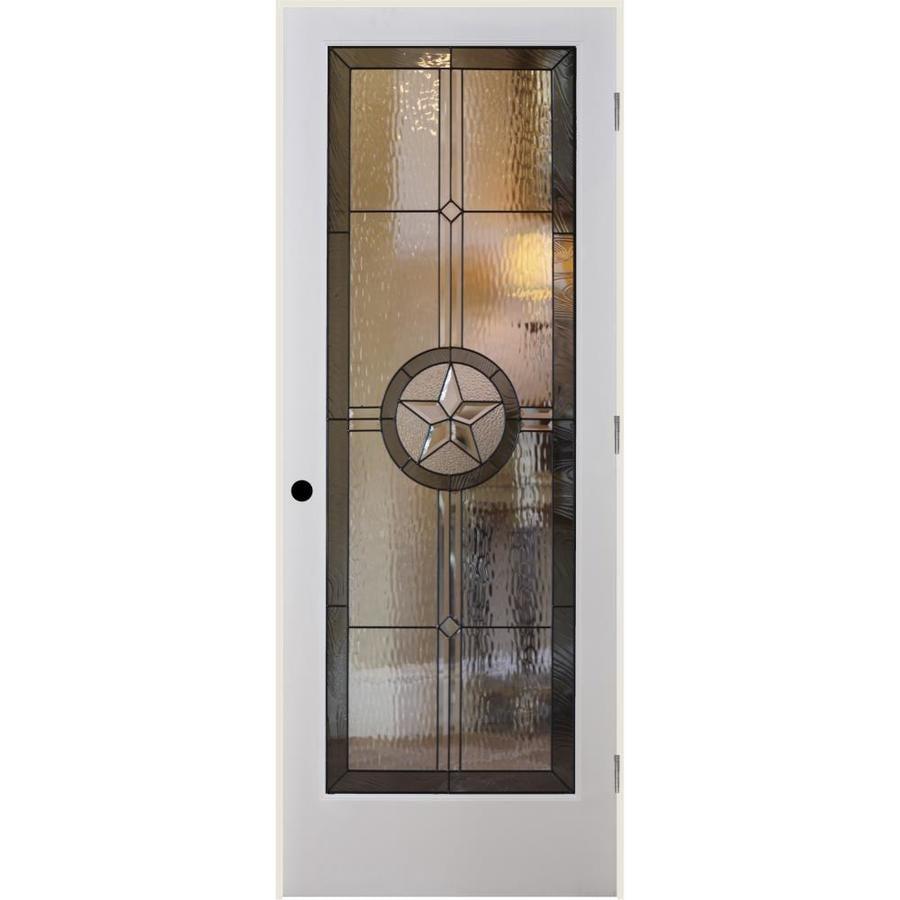 ReliaBilt American Star Insulated Solid Core Single Prehung Interior Door (Common: 30-in x 80-in; Actual: 31.5-in x 81.6875-in)