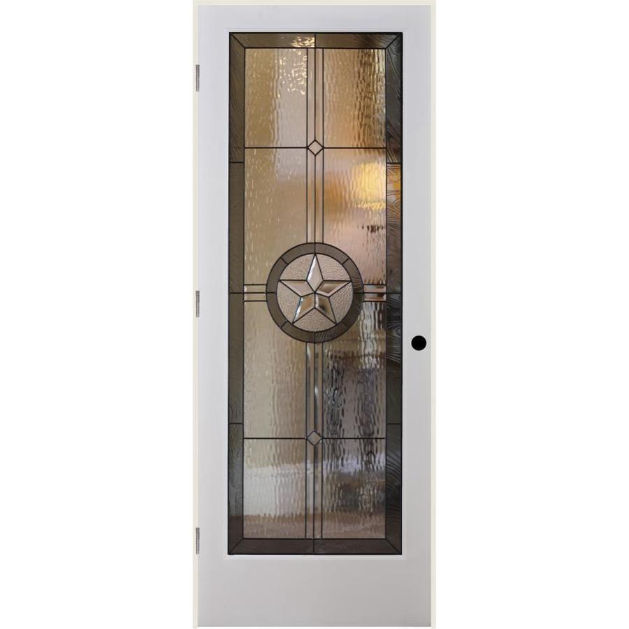 ReliaBilt American Star Insulated Solid Core Single Prehung Interior Door (Common: 32-in x 80-in; Actual: 33.5-in x 81.6875-in)