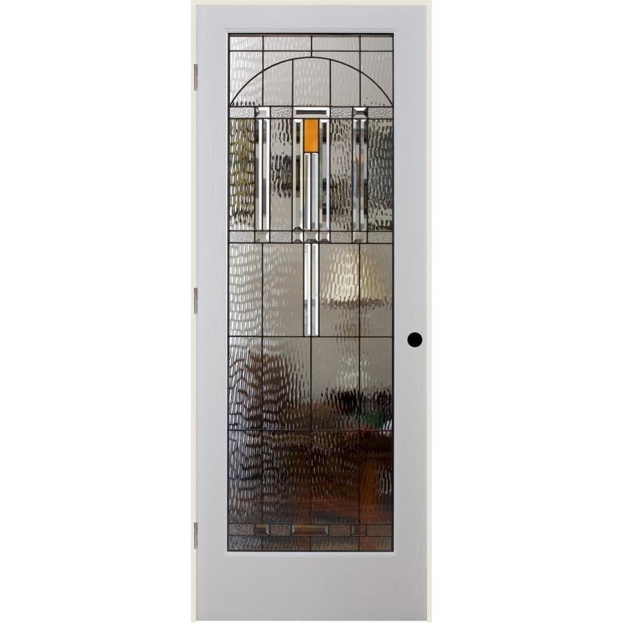 ReliaBilt El Dorado Insulated Solid Core Single Prehung Interior Door (Common: 32-in x 80-in; Actual: 33.5-in x 82.1875-in)