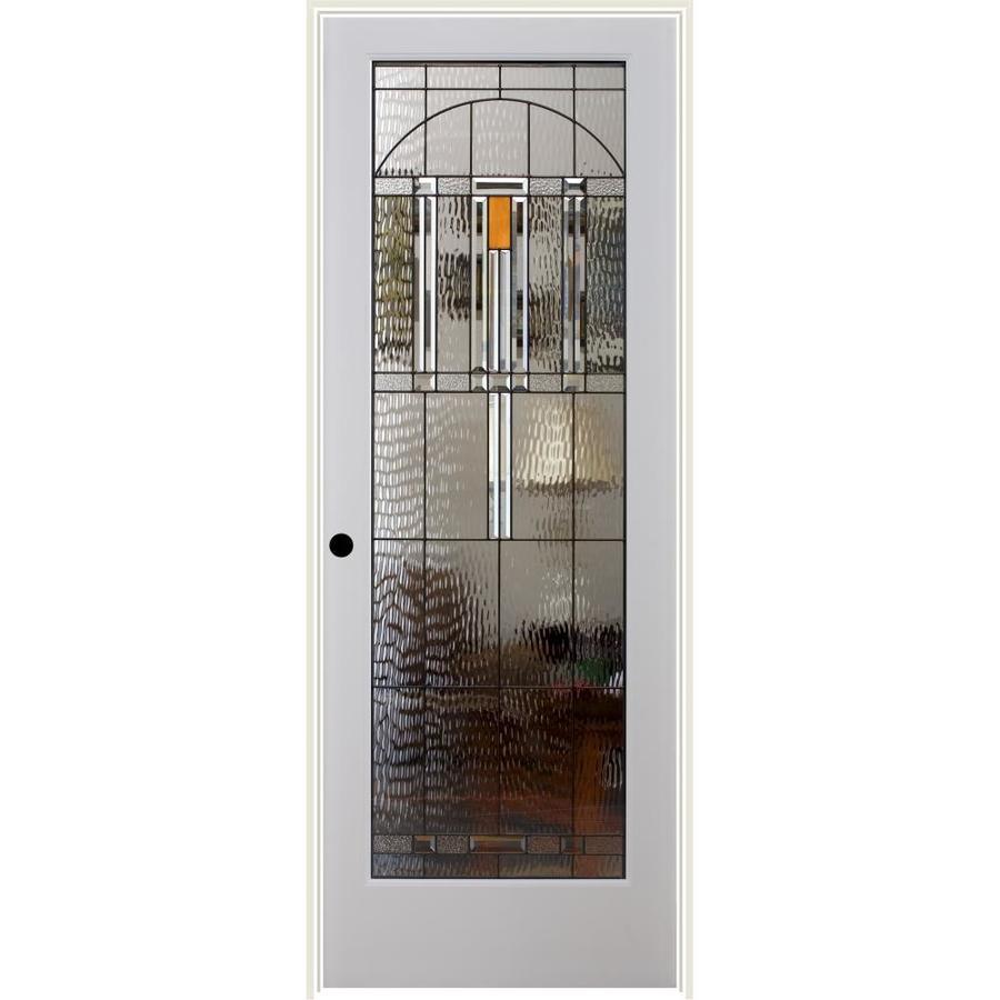ReliaBilt El Dorado Insulated Solid Core Single Prehung Interior Door (Common: 32-in x 80-in; Actual: 33.5-in x 81.6875-in)
