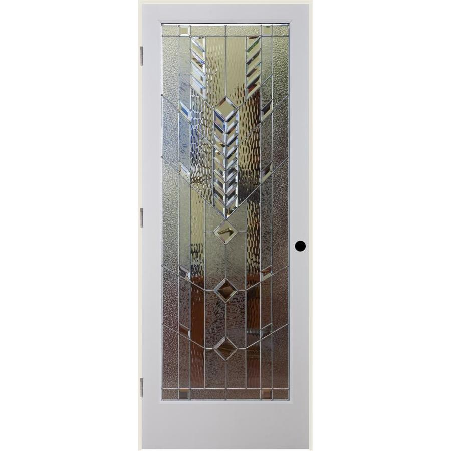 ReliaBilt Mojave Insulated Solid Core Single Prehung Interior Door (Common: 30-in x 80-in; Actual: 31.5-in x 81.6875-in)