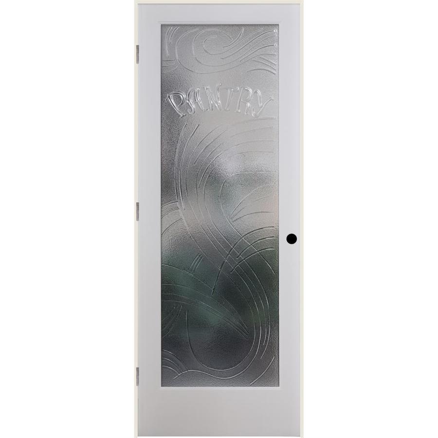 ReliaBilt Cast Pantry Solid Core Single Prehung Interior Door (Common: 30-in x 80-in; Actual: 31.5-in x 82.1875-in)