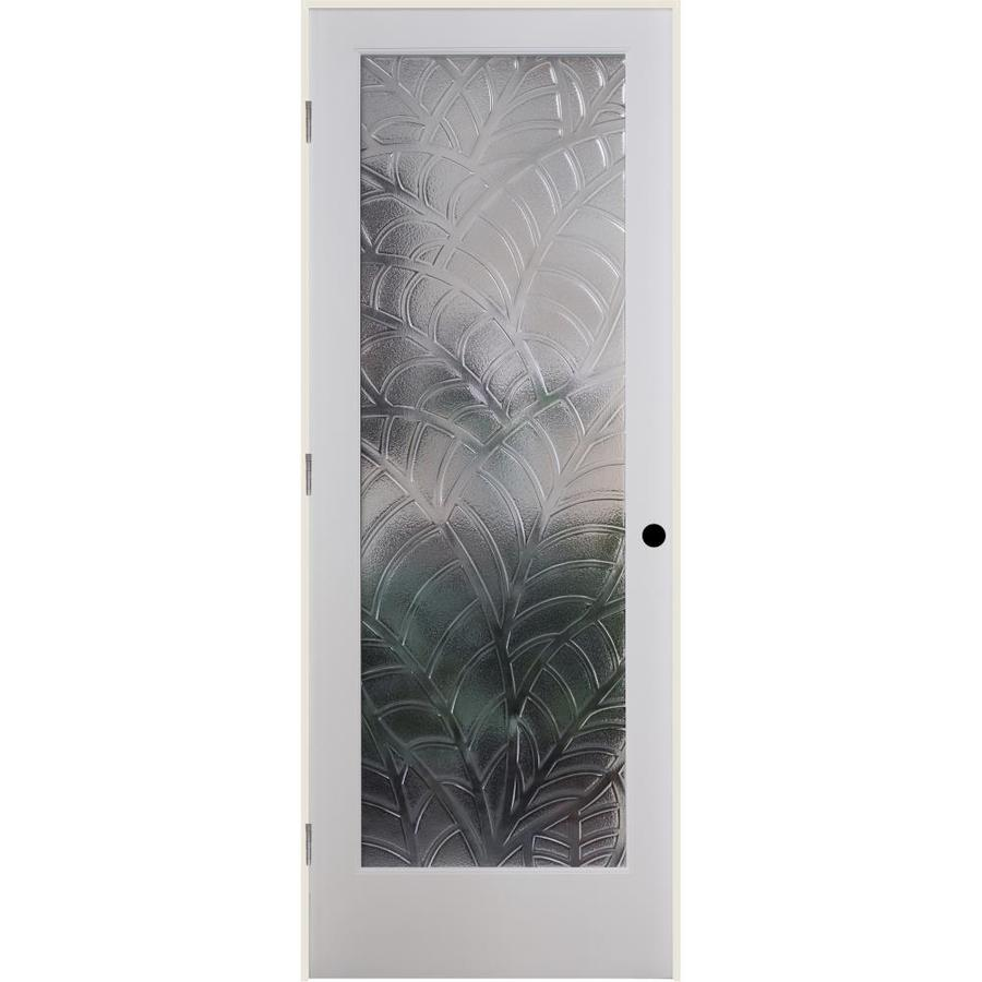 ReliaBilt Cast Kona Solid Core Single Prehung Interior Door (Common: 36-in x 80-in; Actual: 37.5-in x 81.3125-in)
