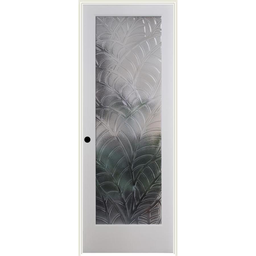 ReliaBilt Cast Kona Solid Core Single Prehung Interior Door (Common: 24-in x 80-in; Actual: 25.5-in x 82.1875-in)