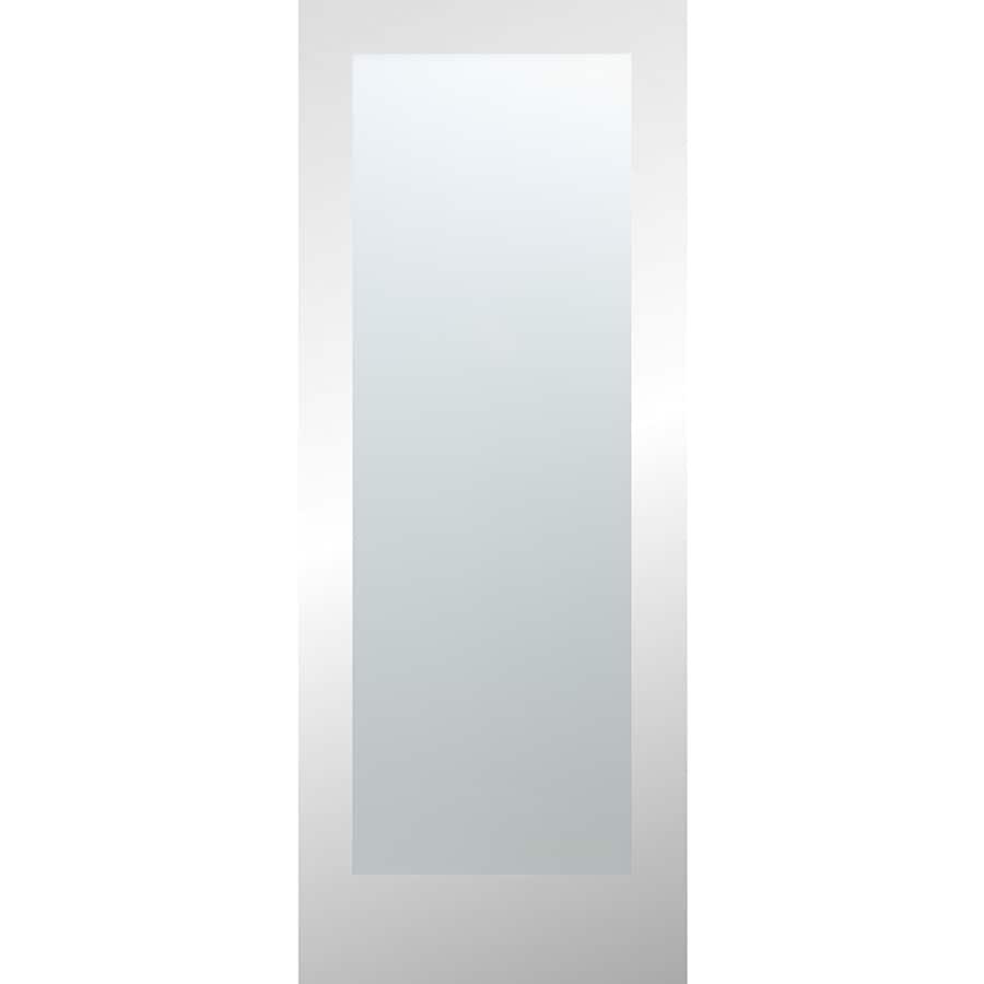 ReliaBilt White Laminate Solid Core Slab Interior Door (Common: 28-in x 80-in; Actual: 28-in x 80-in)