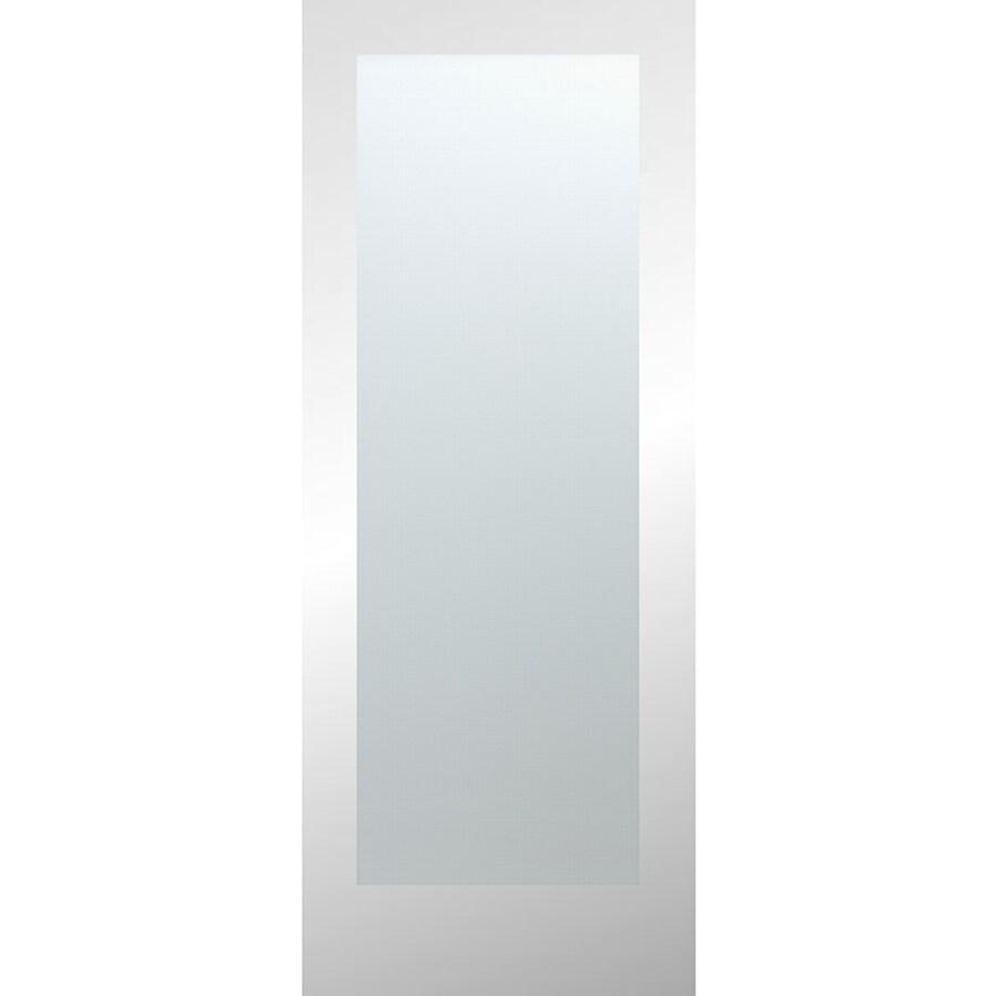 ReliaBilt White Laminate Solid Core Slab Interior Door (Common: 30-in x 80-in; Actual: 30-in x 80-in)