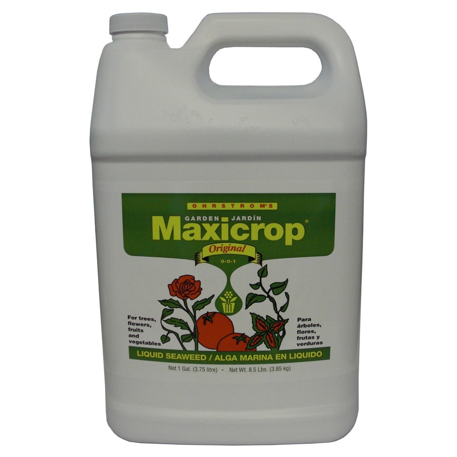Maxicrop Original 1-Gallon Organic/Natural Flower and Vegetable Food (0-0-1)