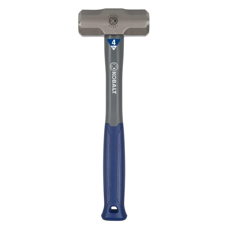 Kobalt 4-lb Steel Sledge Hammer with 15-in Fiberglass Handle