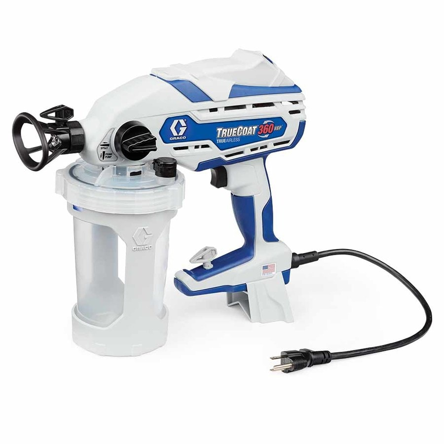 Shop graco truecoat 360vsp electric handheld airless paint for Air or airless paint sprayer