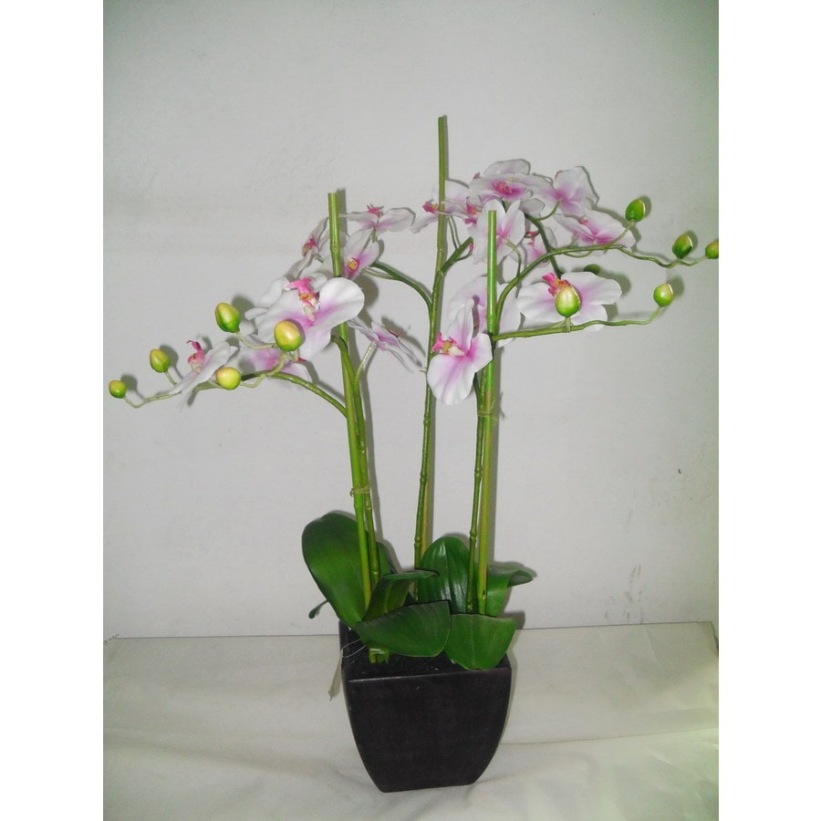 26-in White Artificial Plant