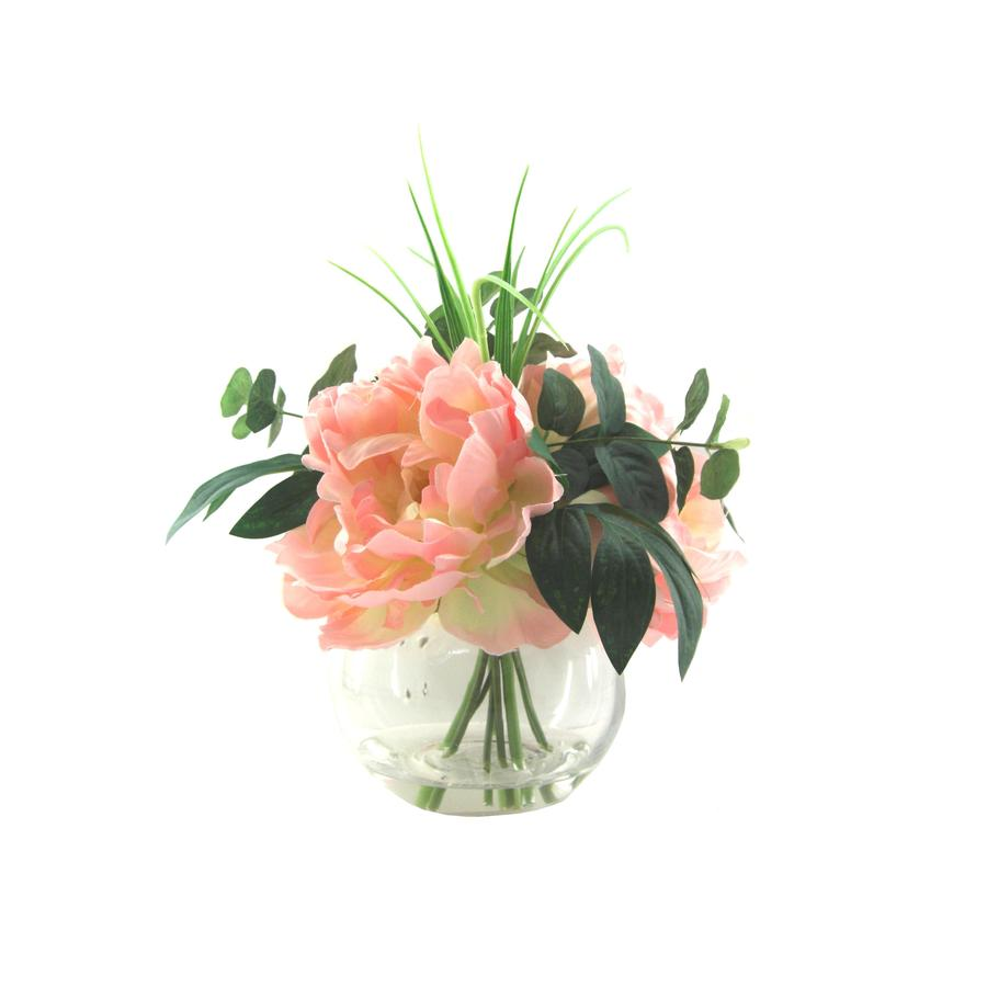 allen + roth 11-in Peach Peony