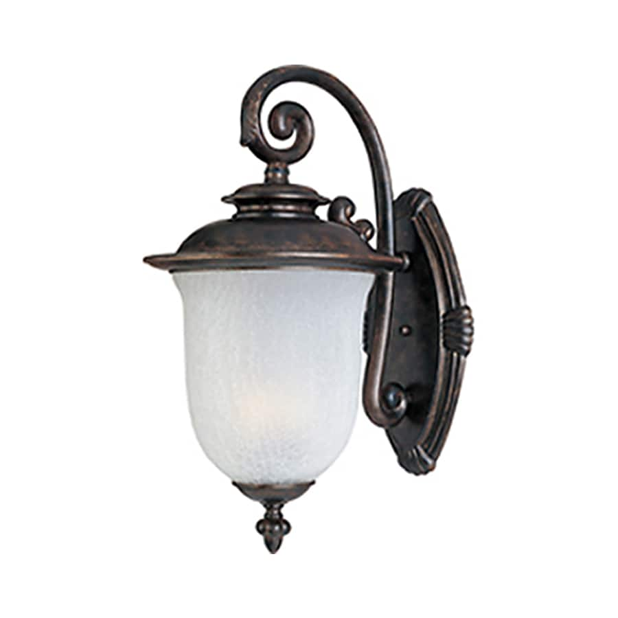 Pyramid Creations Cambria 18-in H Chocolate Outdoor Wall Light