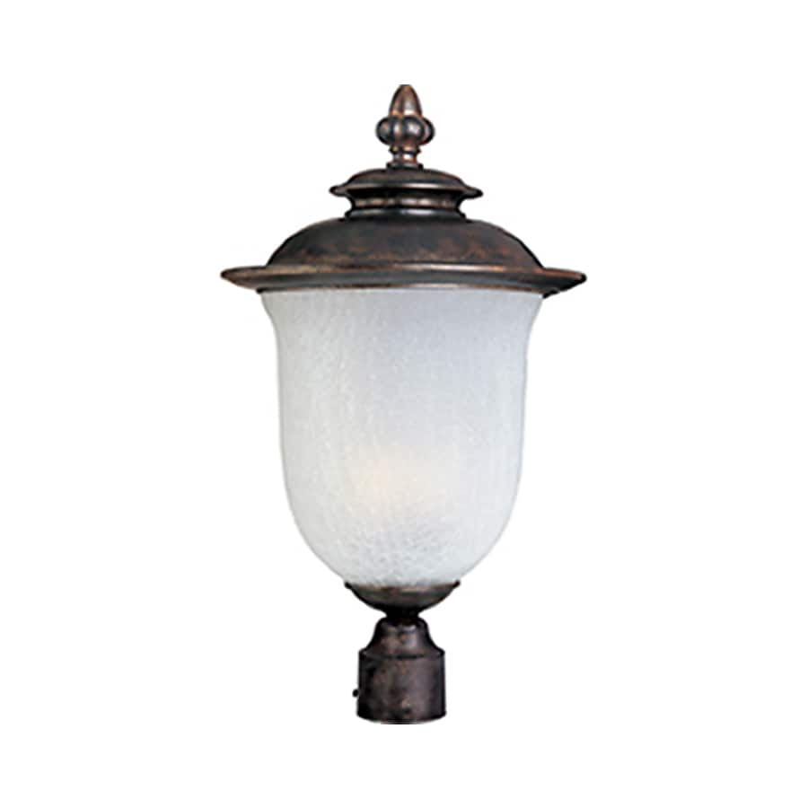 Pyramid Creations Cambria 15-in H Chocolate Outdoor Wall Light