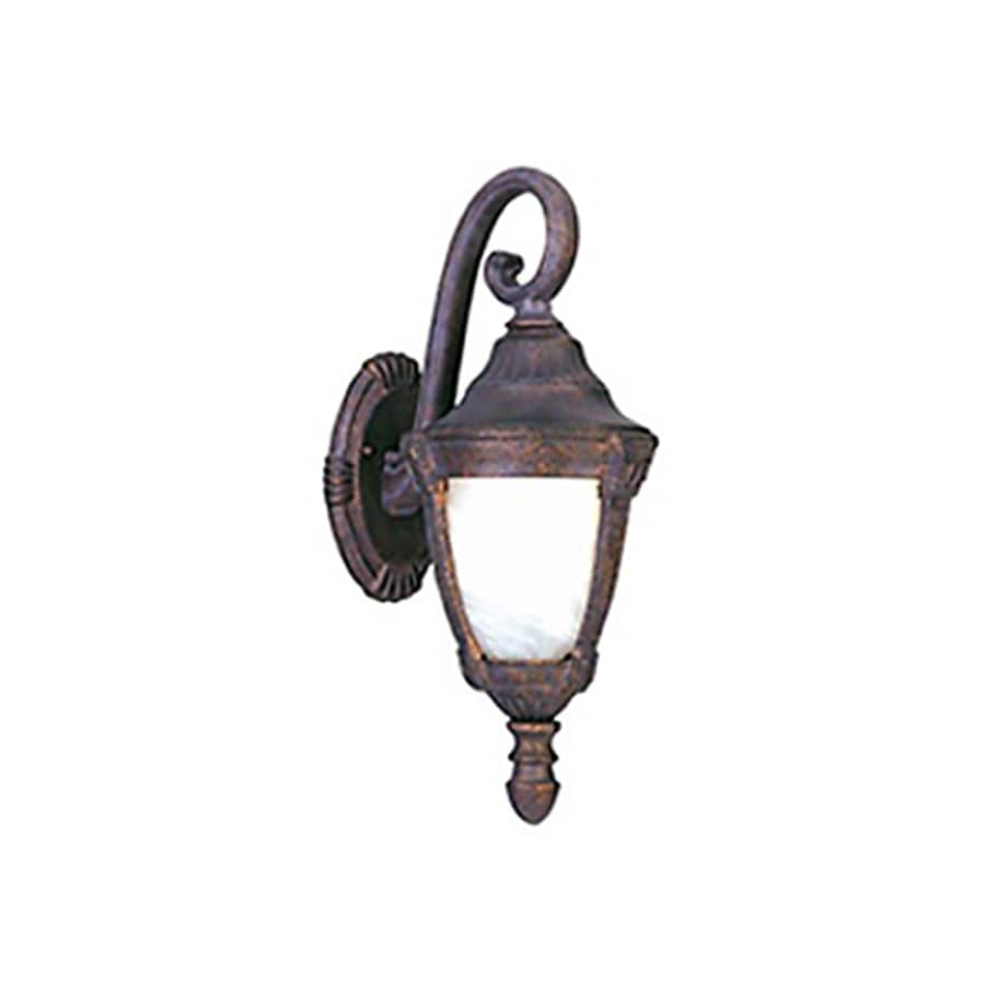 Pyramid Creations Wakefield 20-in H Empire Bronze Outdoor Wall Light