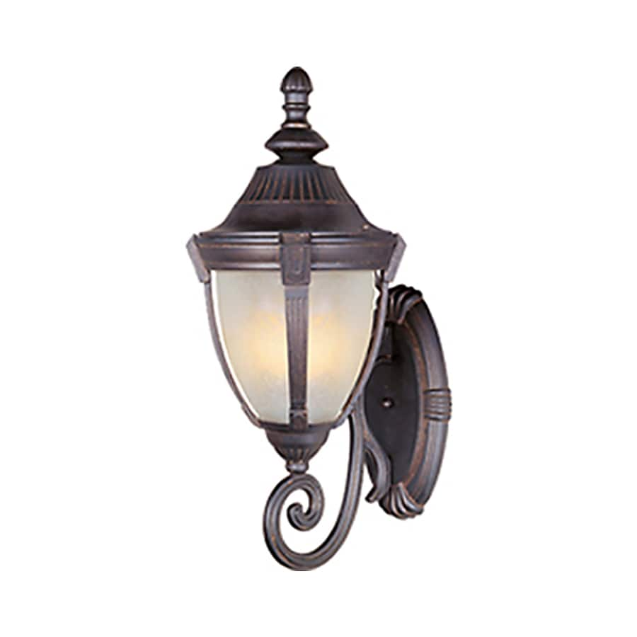 Pyramid Creations Wakefield 30-in H Empire Bronze Outdoor Wall Light