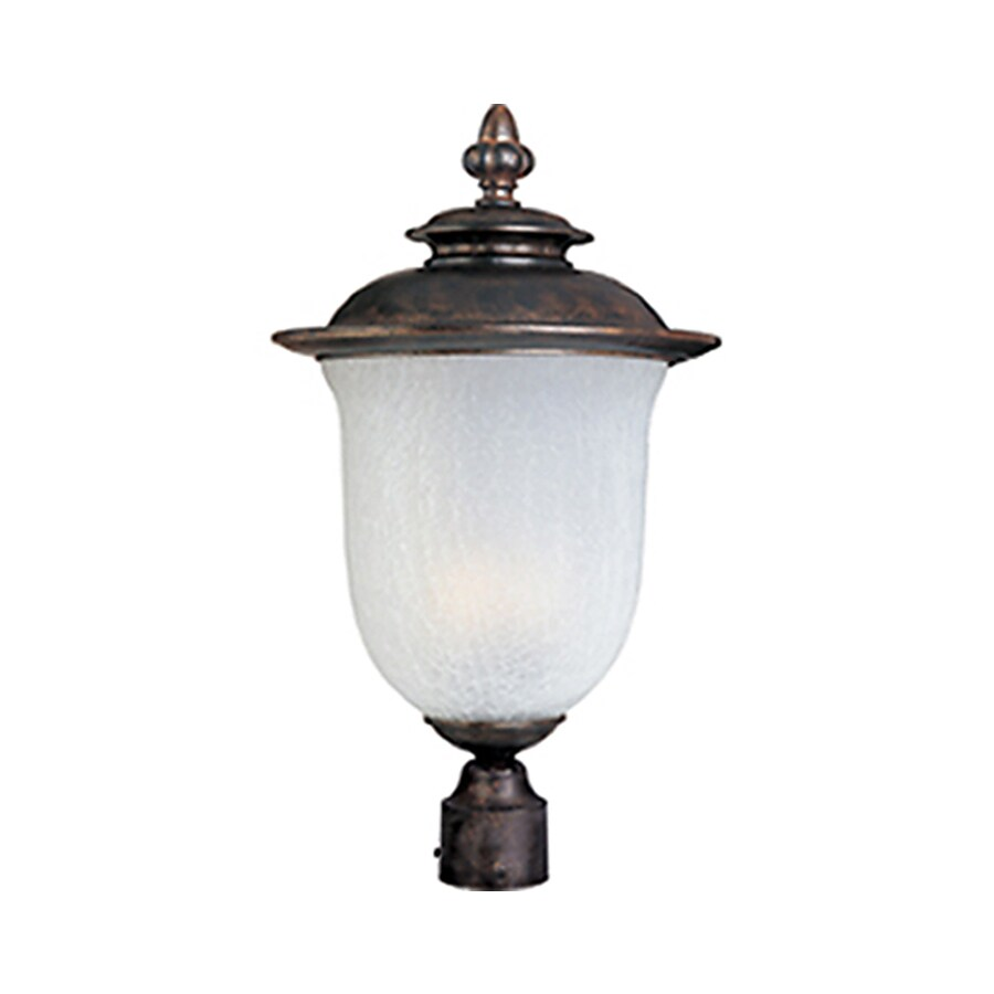 Pyramid Creations Cambria 22-in H Chocolate Outdoor Wall Light