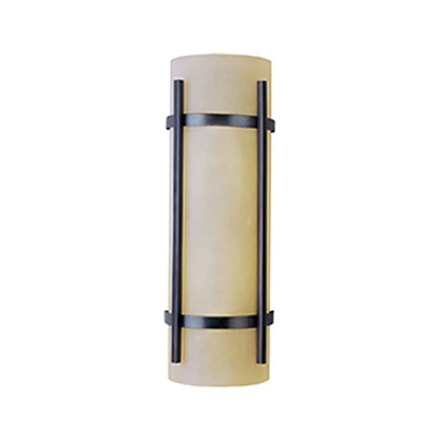 Pyramid Creations Luna 21-in H Oil-Rubbed Bronze Outdoor Wall Light